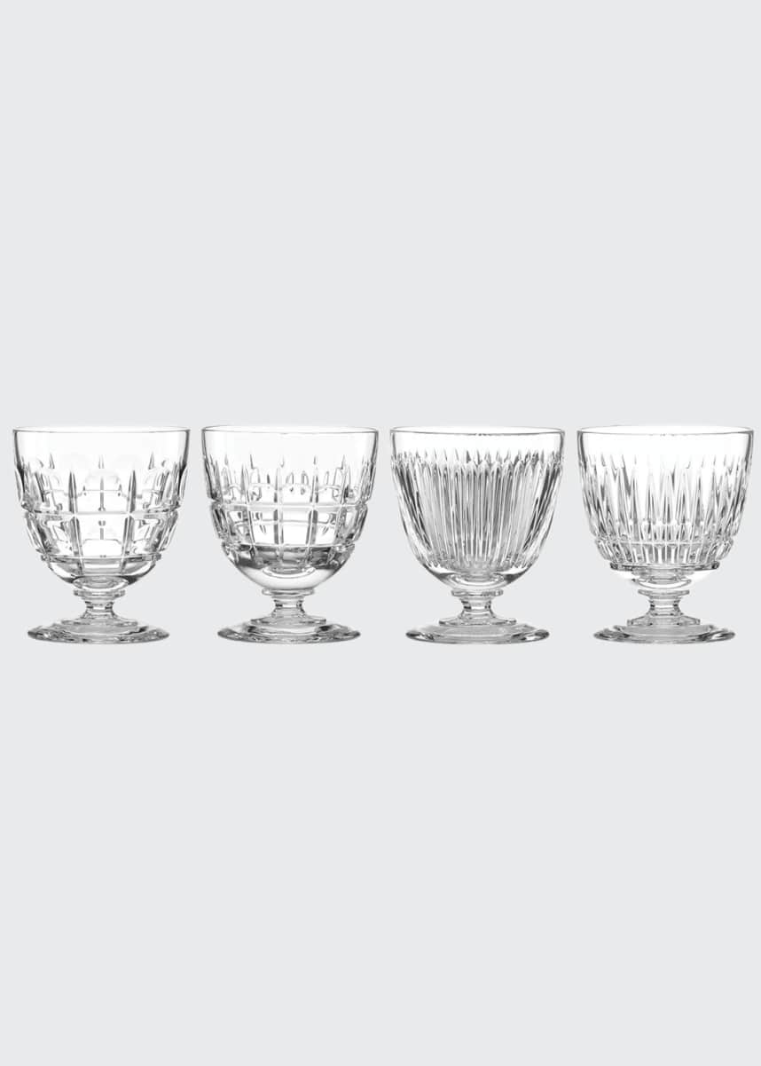 Reed & Barton New Vintage Cocktail Glasses, Set of 4