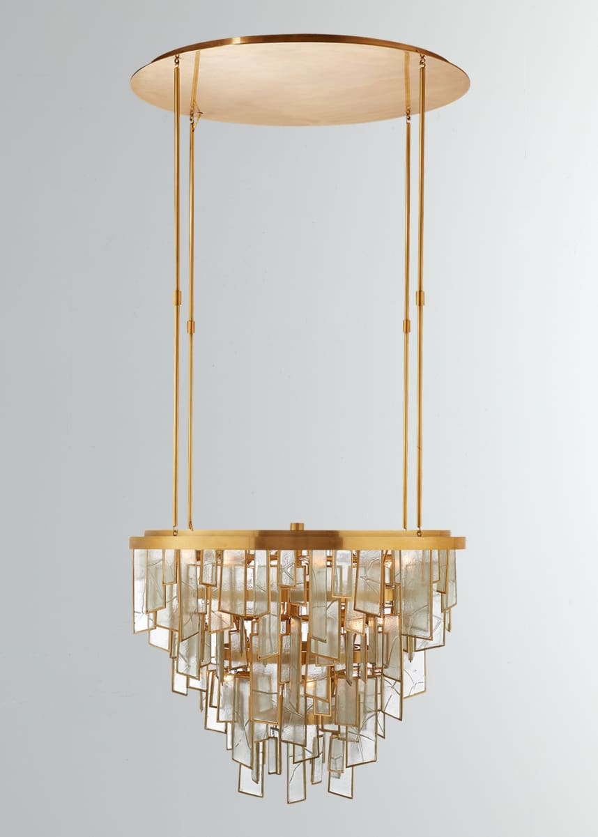 Kelly Wearstler Ardent Medium Waterfall Chandelier