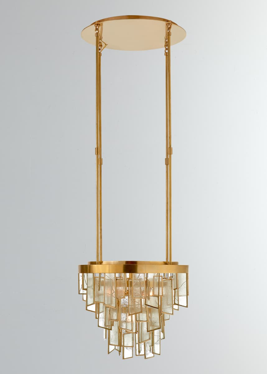 Kelly Wearstler Ardent Small Waterfall Chandelier
