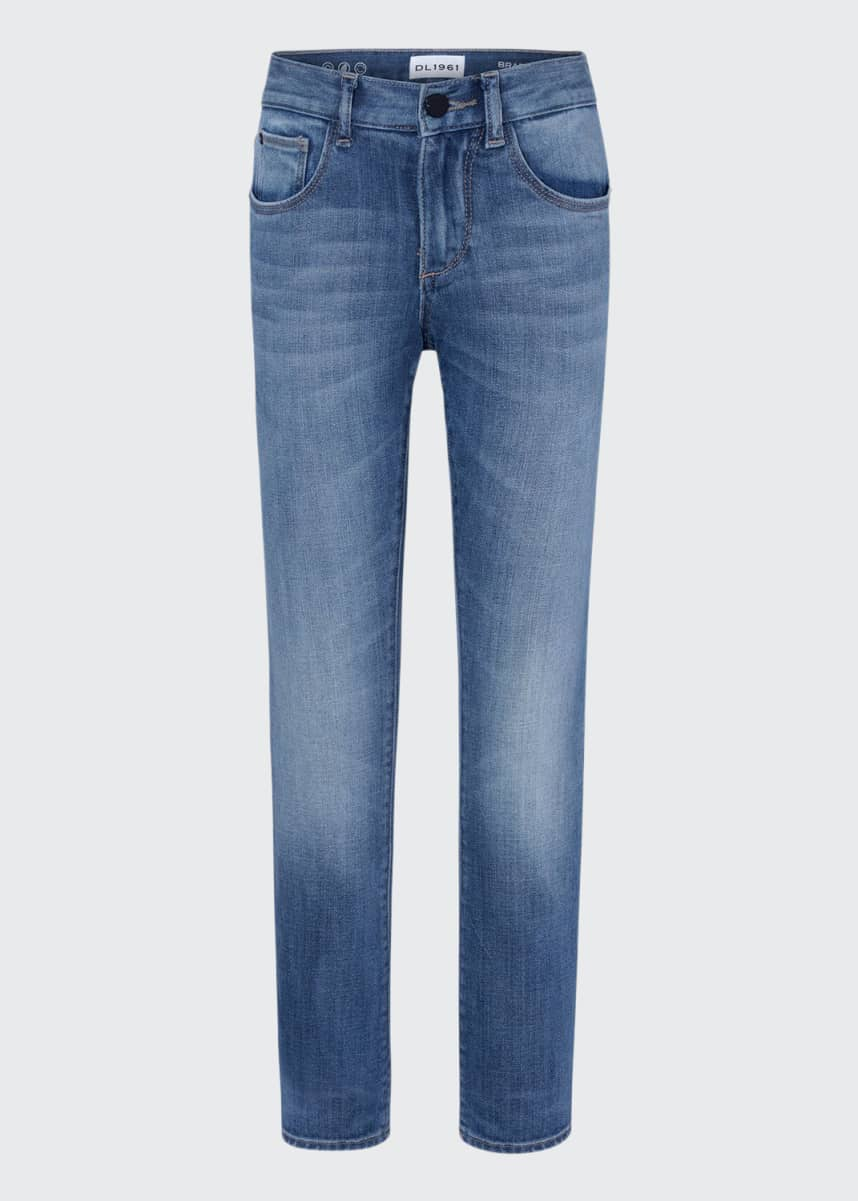DL1961 Premium Denim Boy's Brady Slim Jeans, Size 8-14