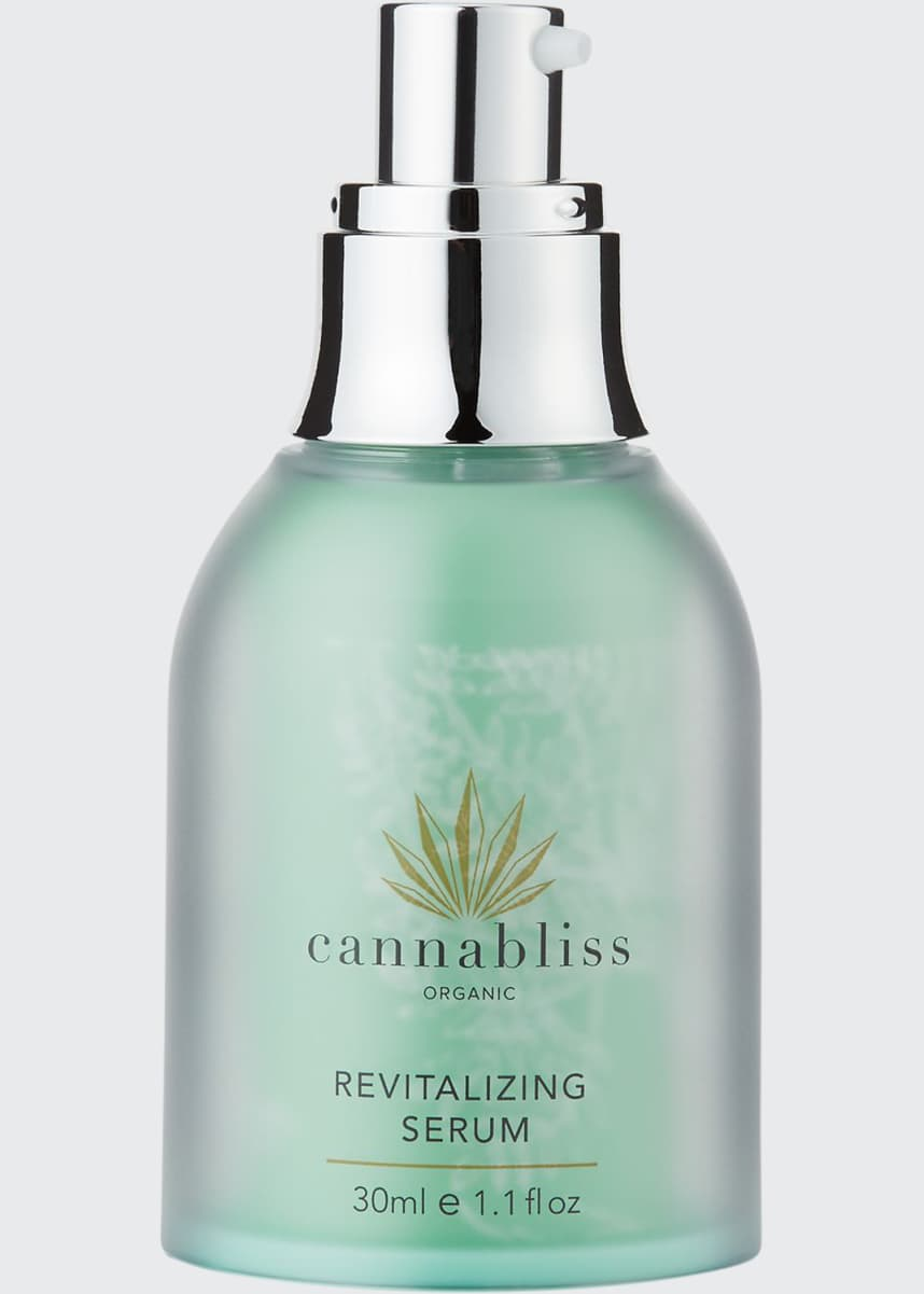 Cannabliss Organic Revitalizing Face Serum, 1.1 oz./ 30 mL