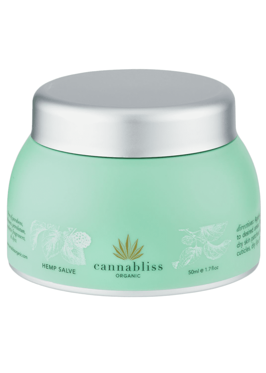 Cannabliss Organic Hemp Salve, 1.76 oz./ 50 mL