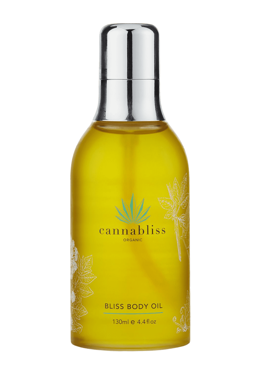 Cannabliss Organic Bliss Body Oil, 4.4 oz./ 130 mL
