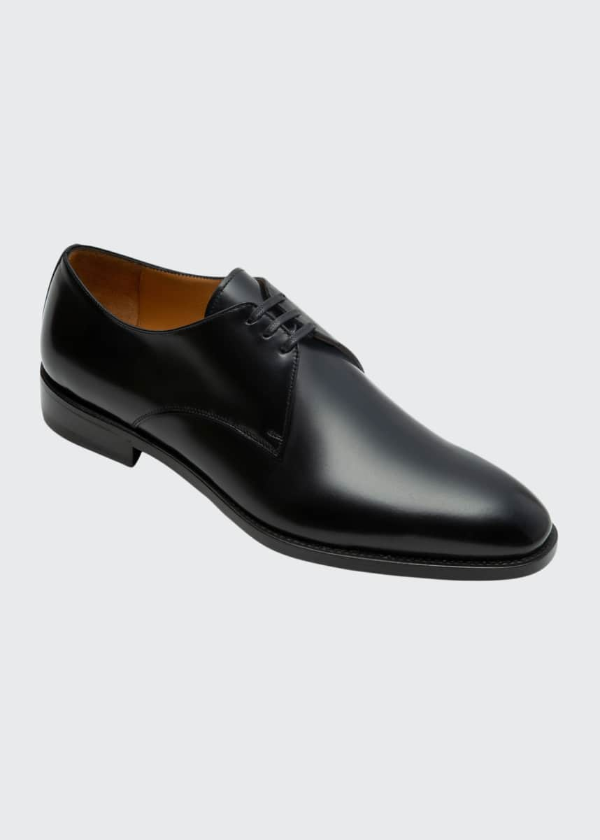 Paul Stuart Men's Hancock Leather Derby Shoes
