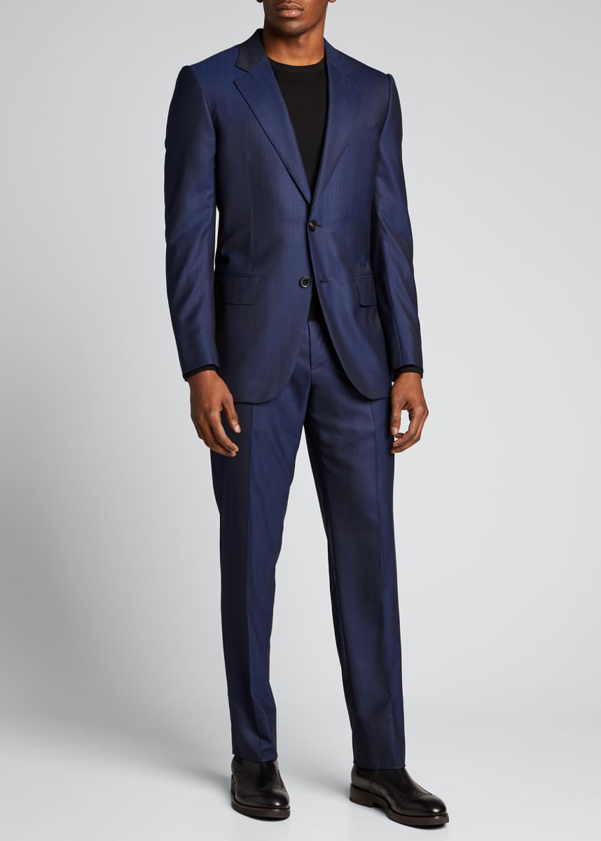Ermenegildo Zegna Men's Centoventimila Wool Two-Piece Suit