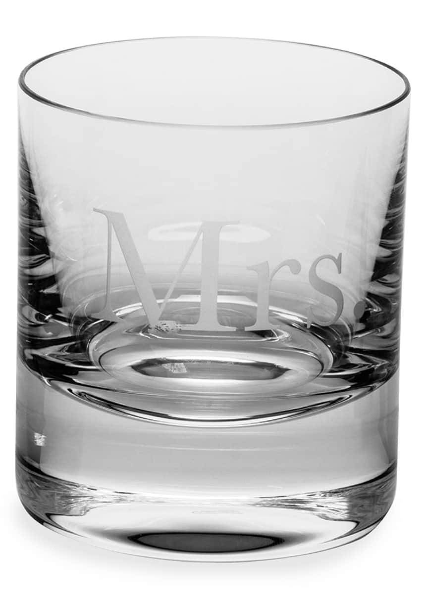 Moser Mrs. Whiskey Double Old-Fashioned Glass