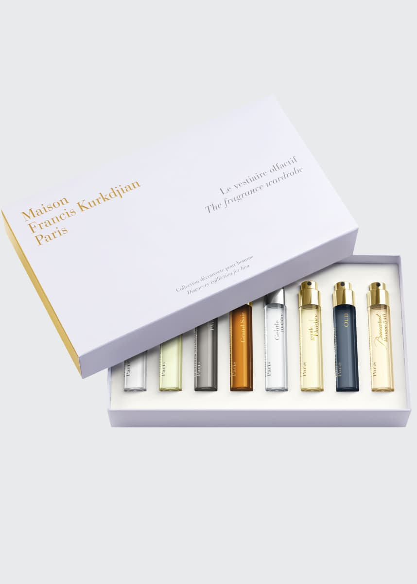 Maison Francis Kurkdjian For him Fragrance Wardrobe, 8 x 11 mL