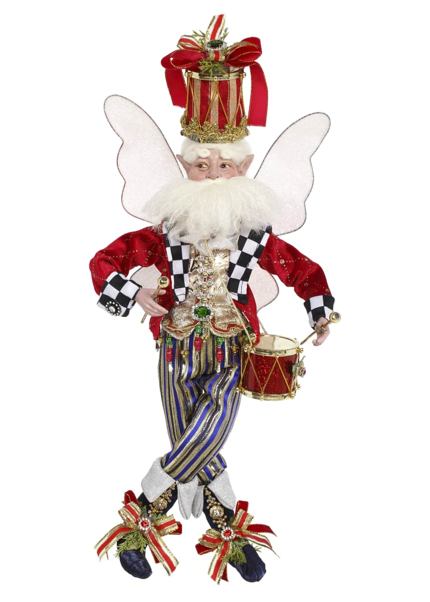 Mark Roberts Drummer Boy Holiday Fairy, Medium