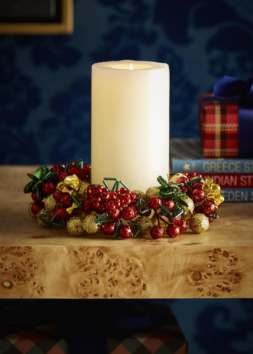 Salzburg Creations Majestic Holiday Candle Ring