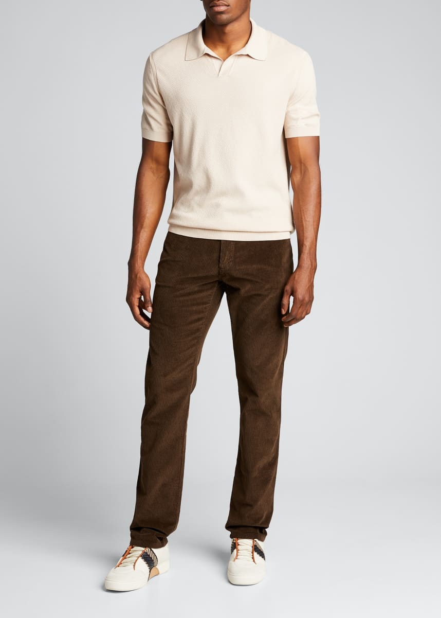 Ermenegildo Zegna Men's 5-Pocket Corduroy Pants