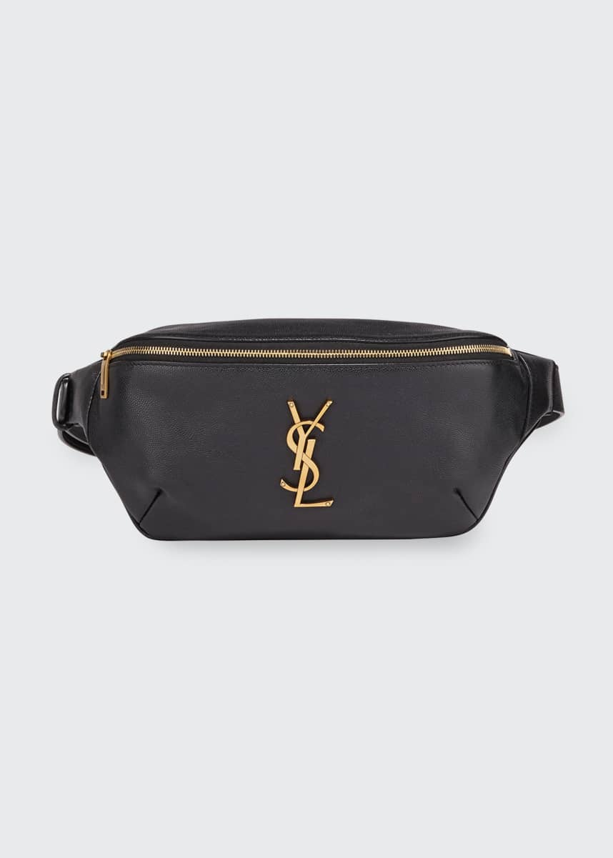 Saint Laurent YSL Monogram Logo Fanny Pack/Belt Bag