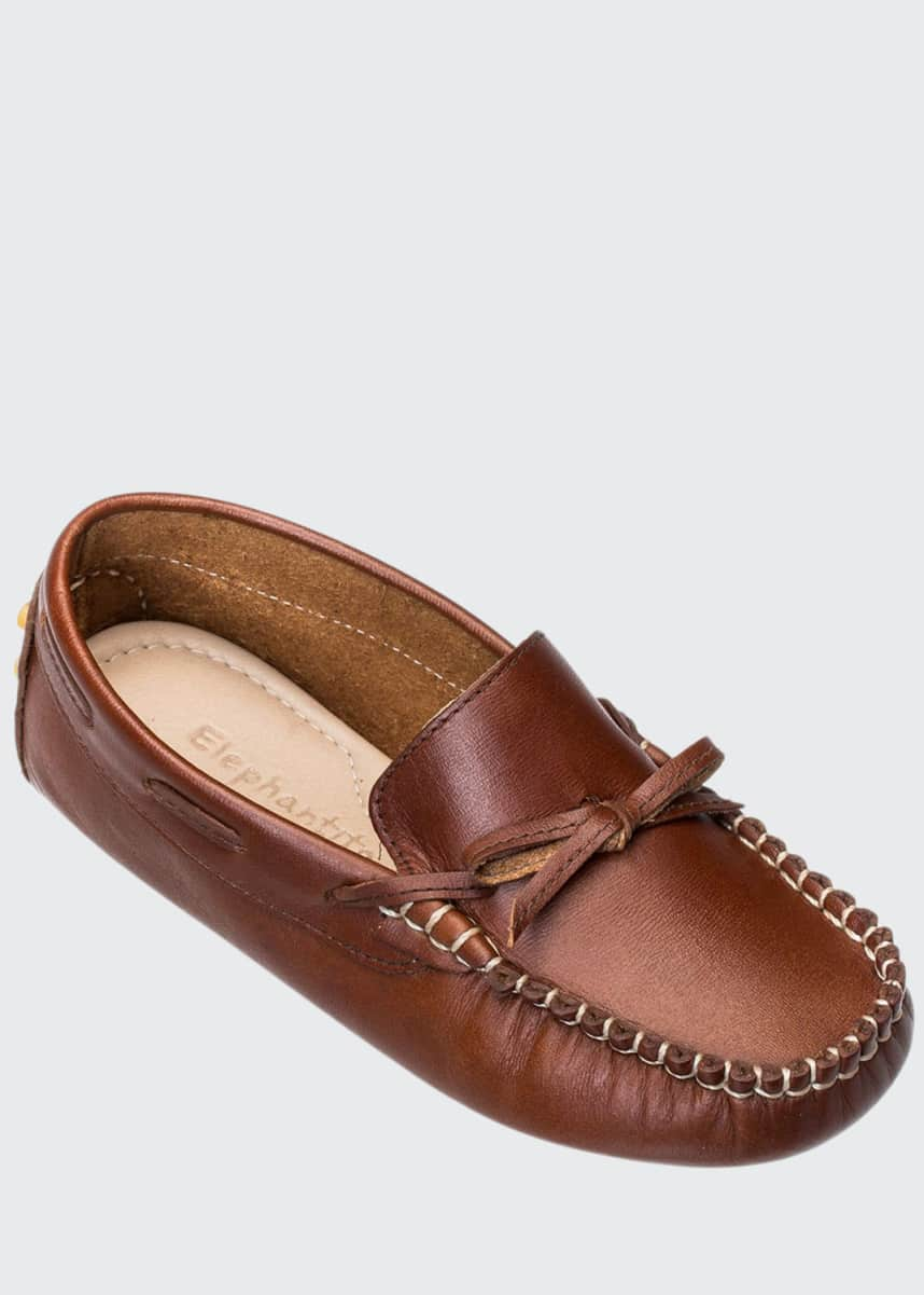 Elephantito Leather Driver Loafer, Toddler/Kids