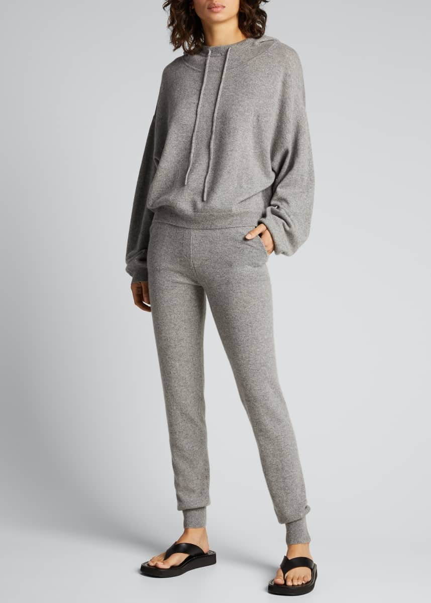 Loulou Studio Cashmere Crop Hoodie