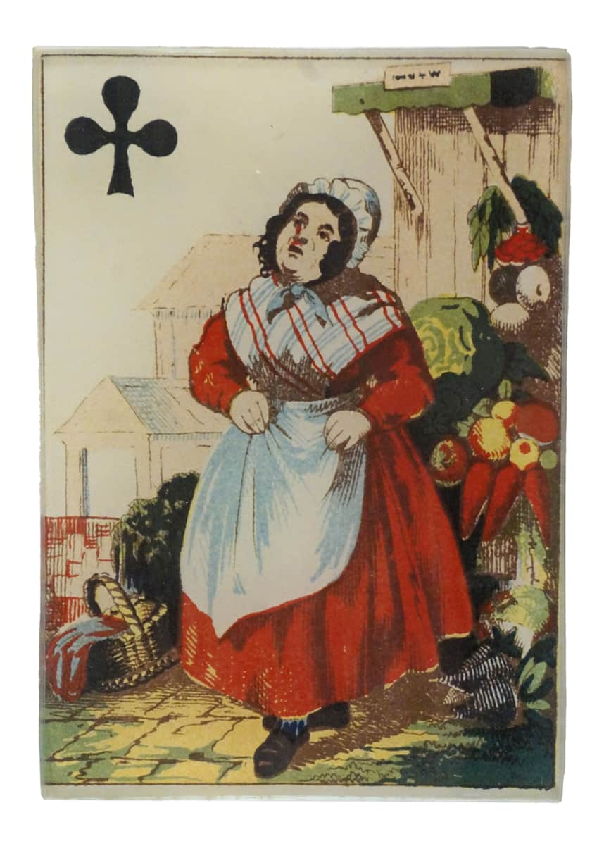 John Derian Queen of Clubs Rectangular Tiny Tray