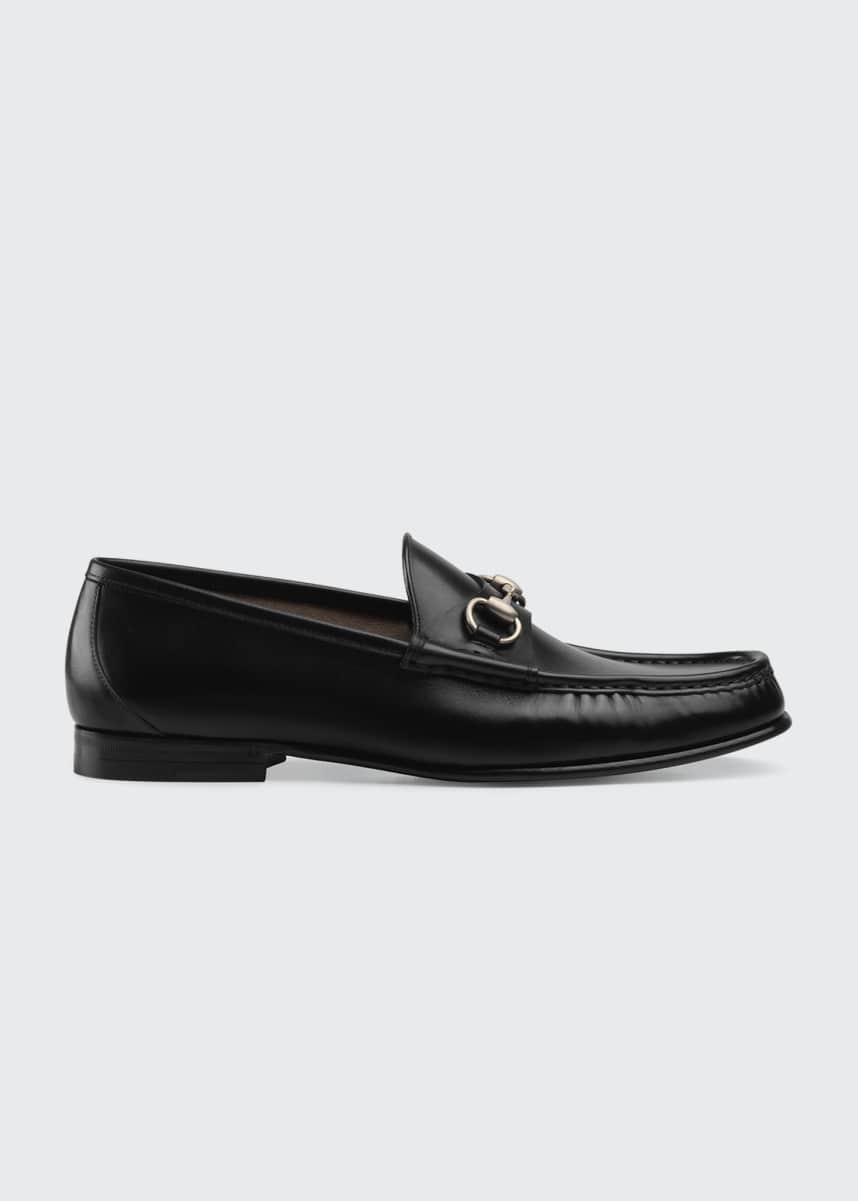 Gucci Men's 1953 Roos Bit Slip-On Loafers