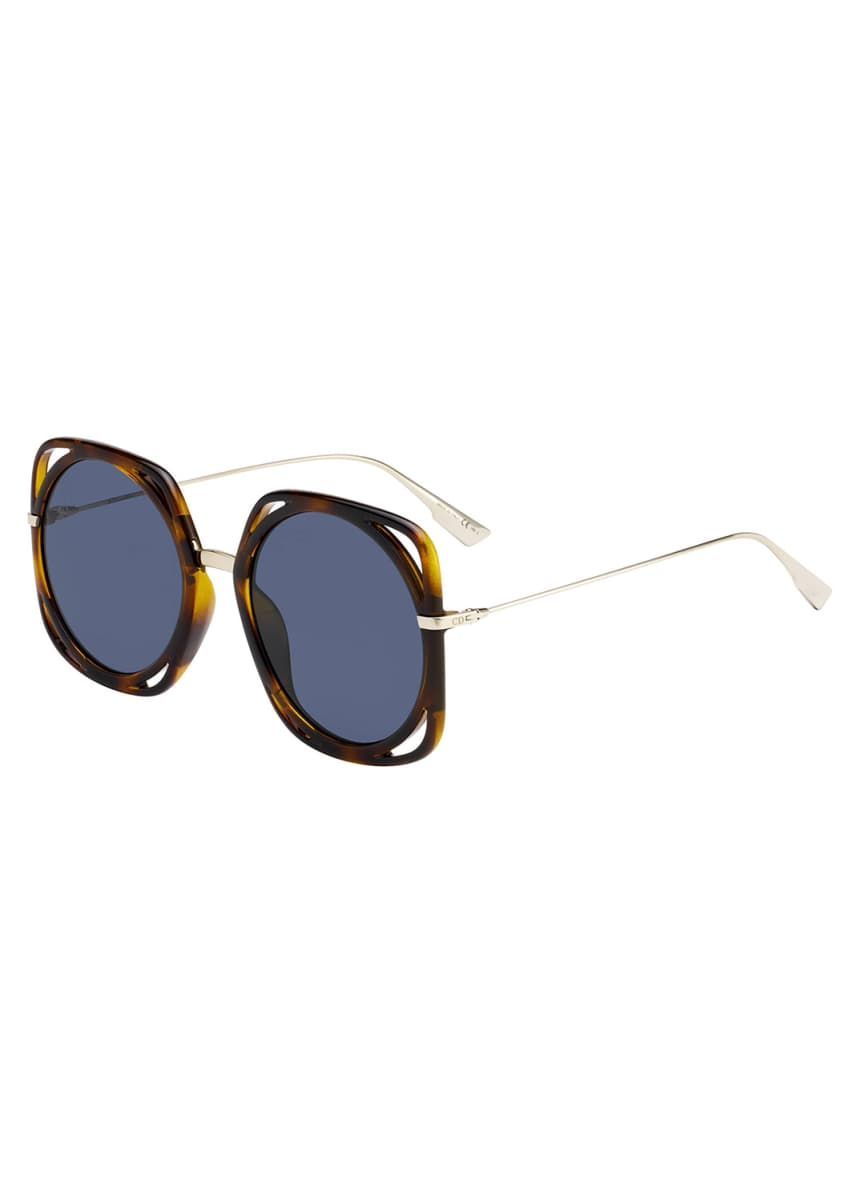 Dior Directions Cutout Gradient Sunglasses