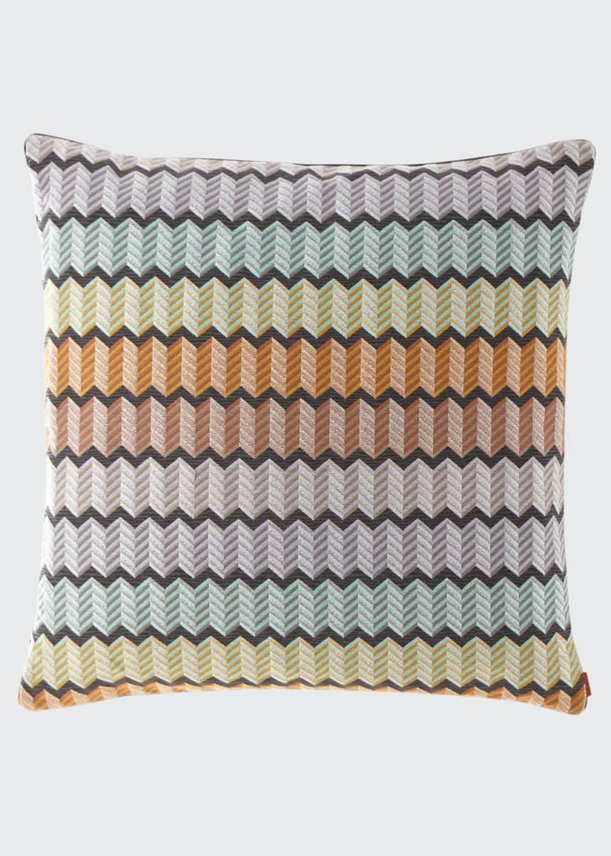 "Missoni Home Waterford Pillow, 24""Sq."