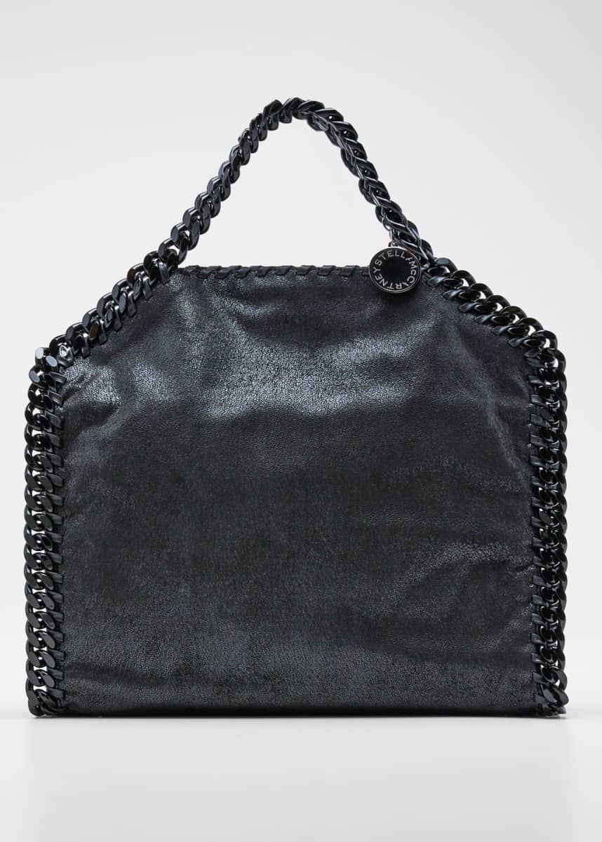 Stella McCartney Falabella Shimmery Small Tote Bag