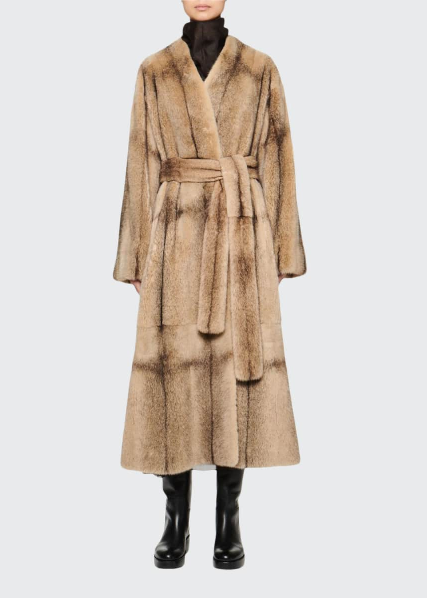 THE ROW Tanilo Mink Fur Coat
