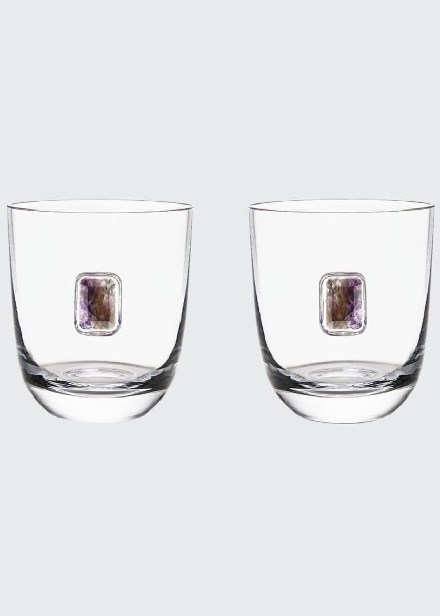 ANNA New York Elevo Double Old-Fashioned Glasses, Set of 2