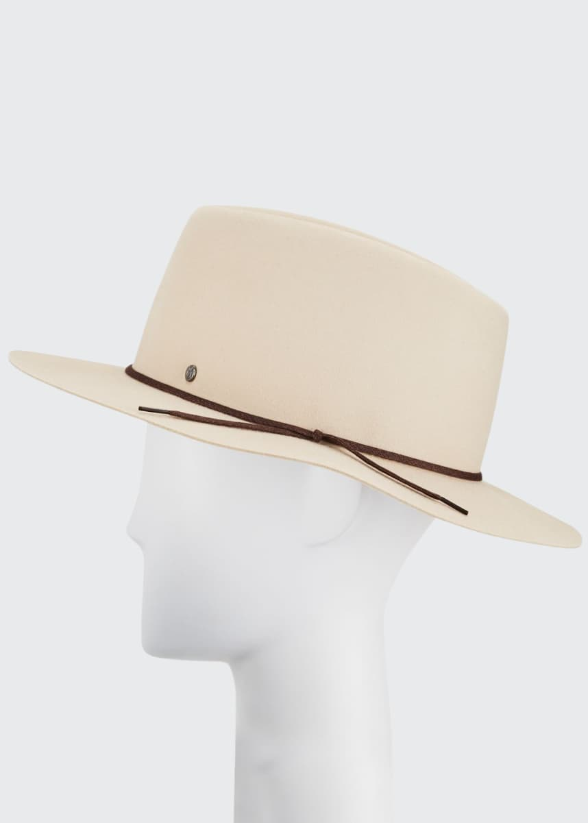 Maison Michel Andre On The Go Rabbit Felt Fedora Hat