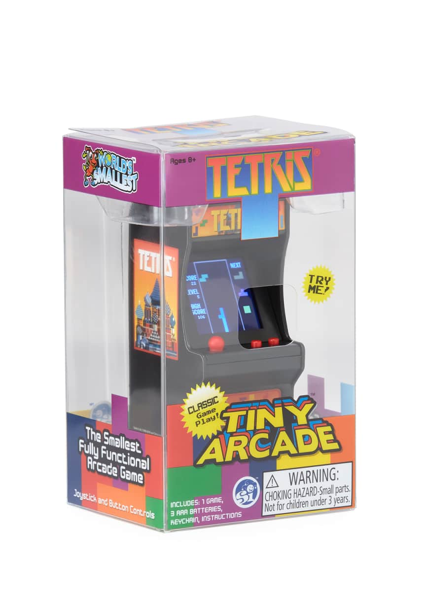 Super Impulse Kids' Tetris Tiny Arcade Game
