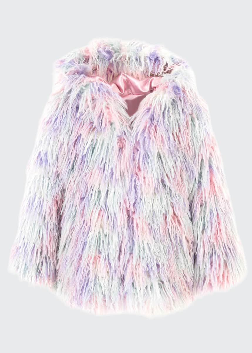 Fabulous Furs Faux Fur Hooded Coat, Size XXS-L