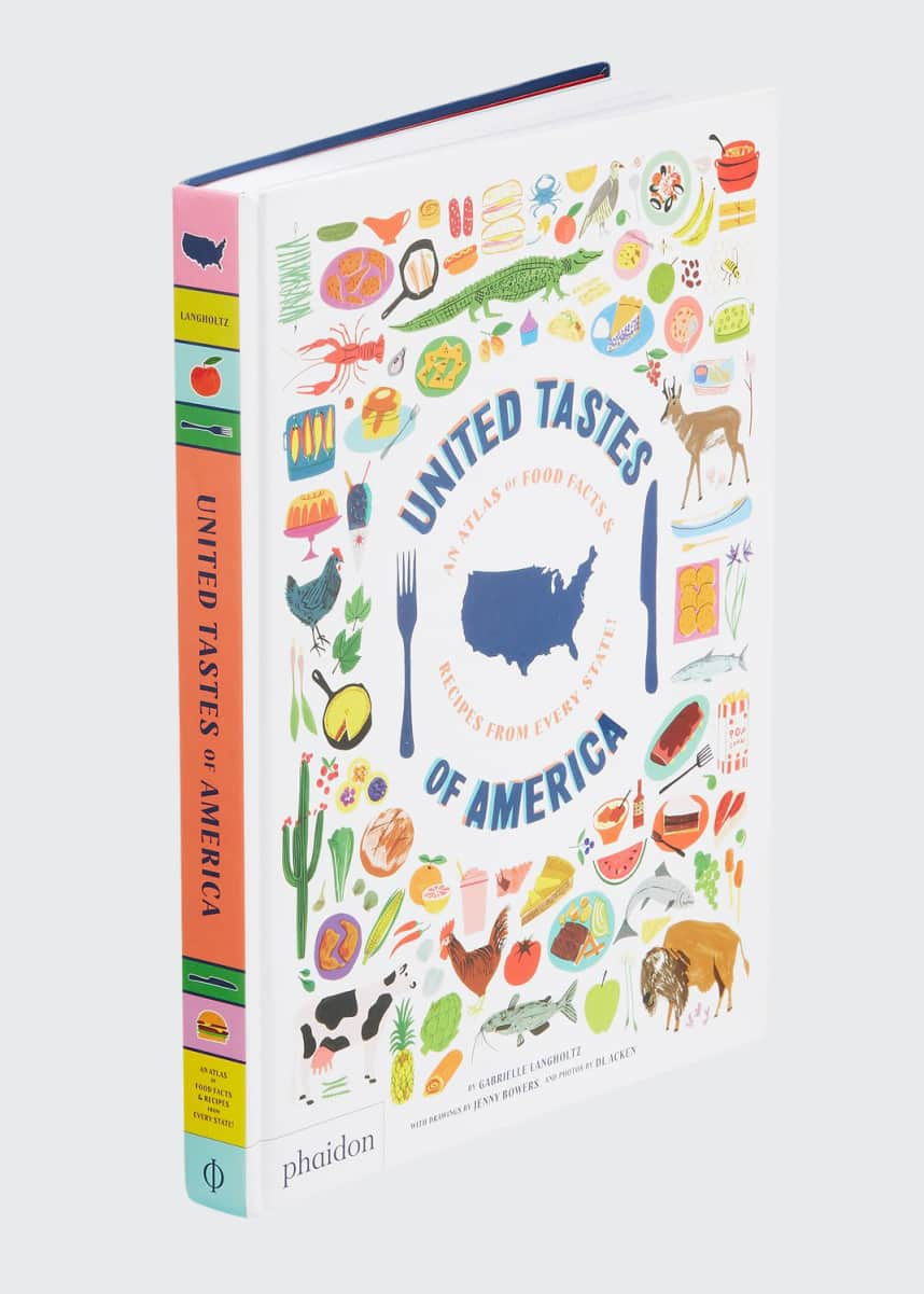 Hachette Book Group United Tastes of America - A Food Atlas