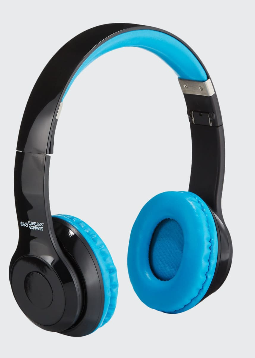 Wireless Express Kids' Stereo Bluetooth On-Ear Headphones with Mic