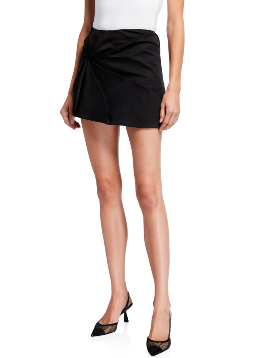 Coperni Vortex Embroidered Mini Skirt