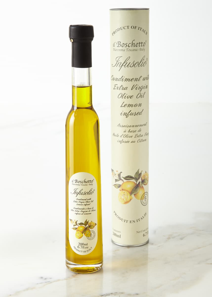 Il Boschetto Lemon Infused Extra Virgin Olive Oil, 200 mL
