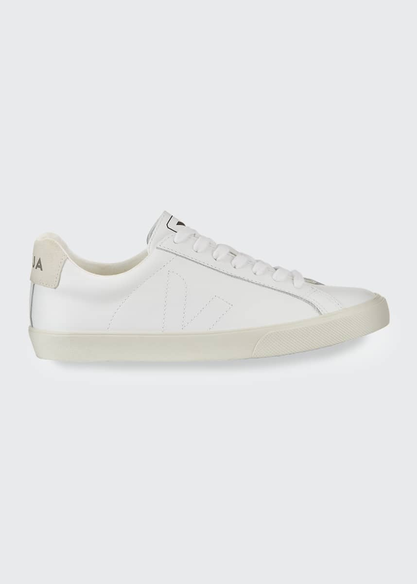 VEJA Esplar Leather Logo Sneakers