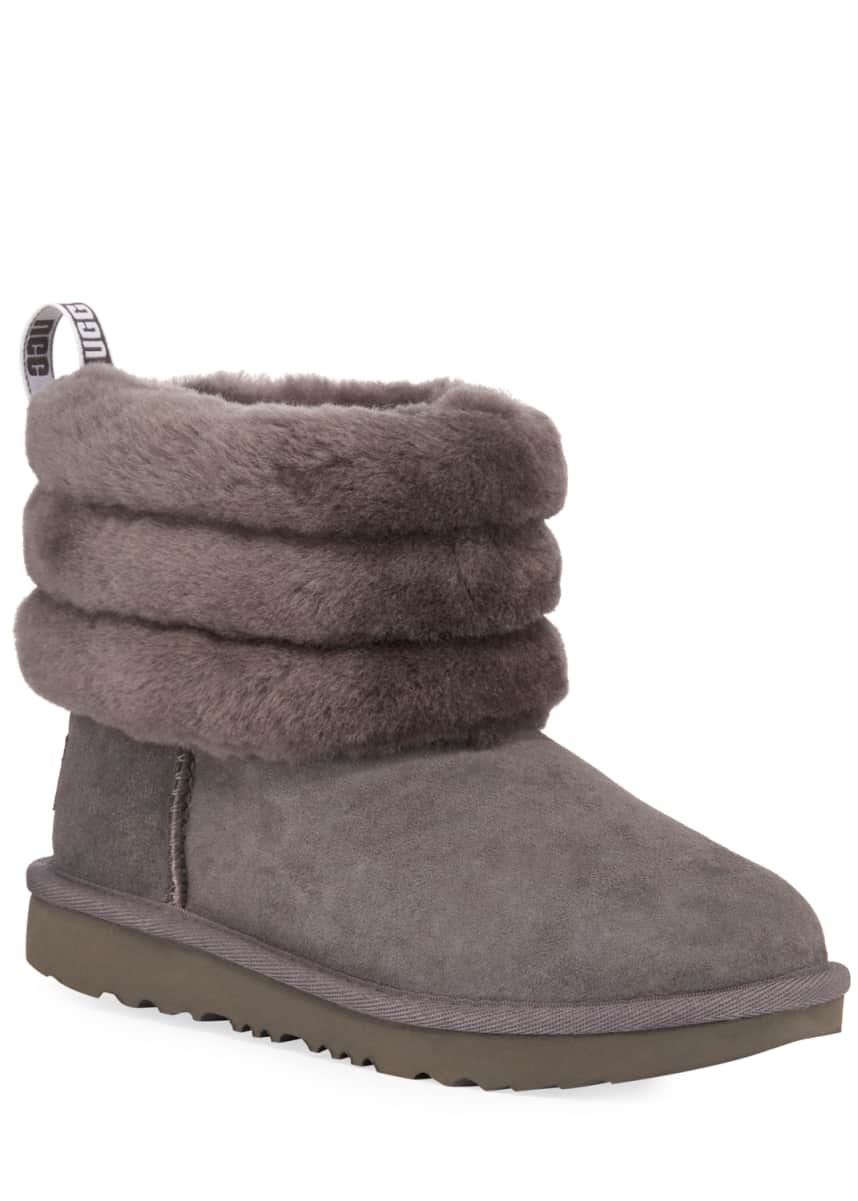 UGG Fluff Mini Quilted Boots, Kids