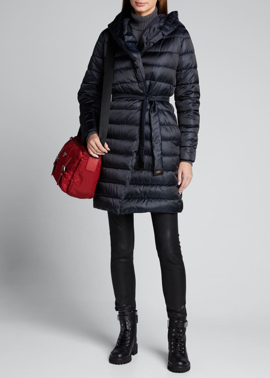 Max Mara Novef Long Puffer Coat