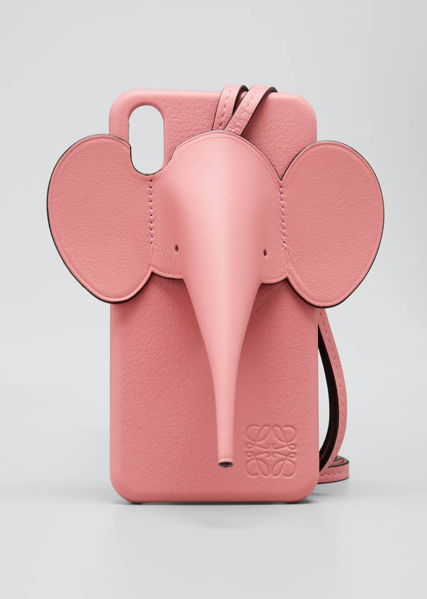 Loewe Elephant Crossbody Phone Case for iPhone® XS