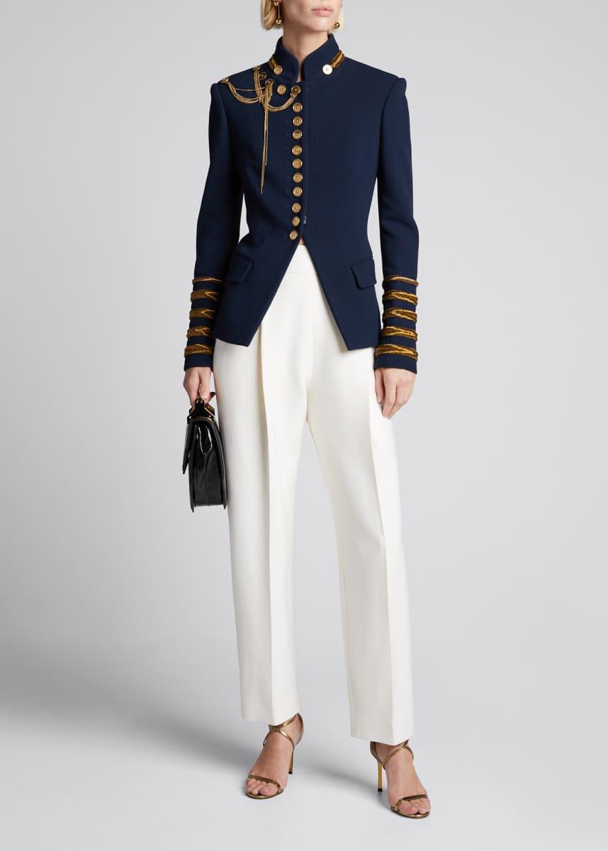 Oscar B Striped casual jacket size 22+24+26