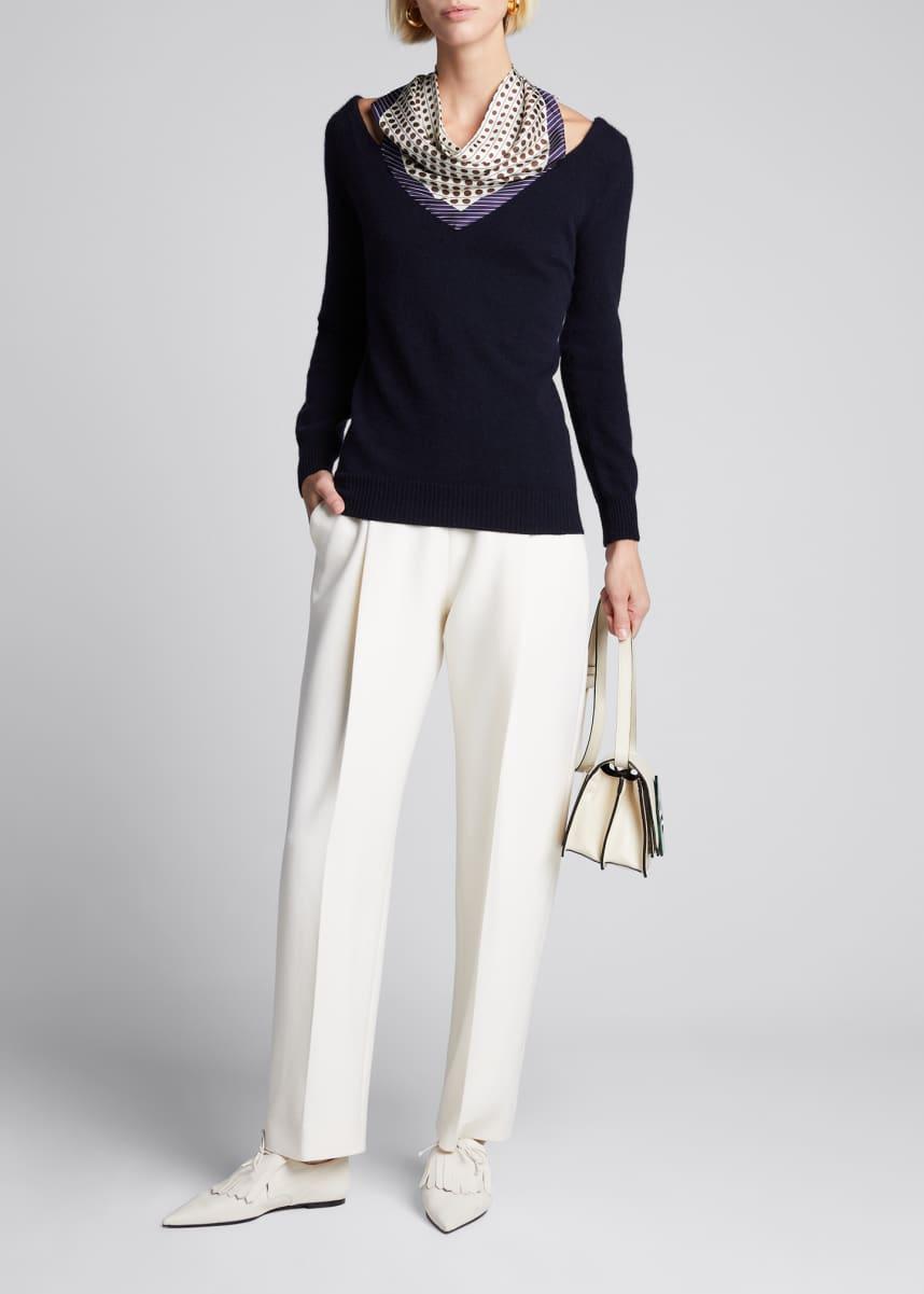 6Y Blue Oscar De La Renta Boys Wool /& Cashmere-Blend Sweater
