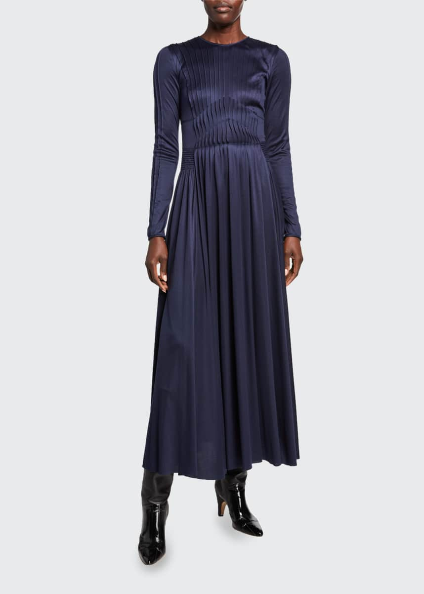 Gabriela Hearst Hermina Silk-Jersey Dress