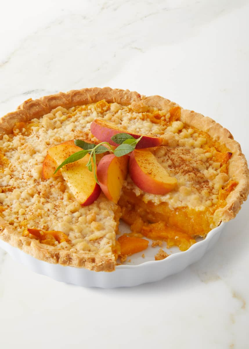 Tootie Pie Company Lower Sugar Peach Pie