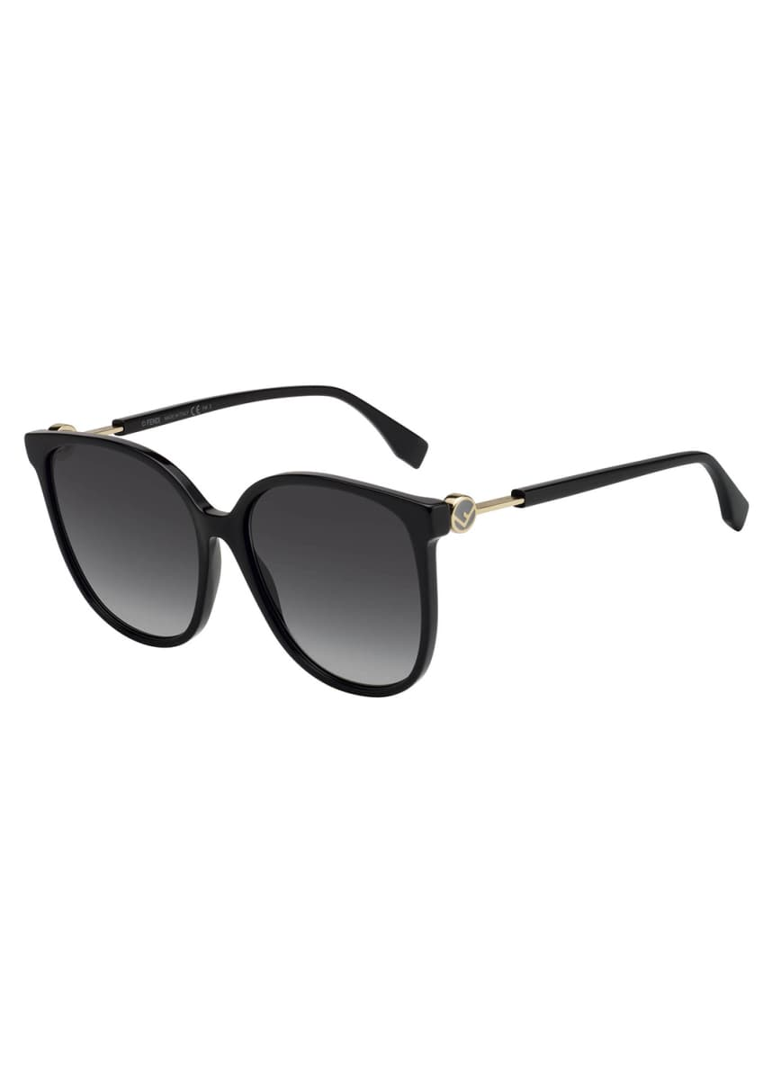 Fendi Round Acetate Sunglasses