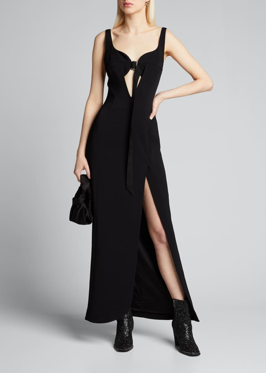 Olivier Theyskens Sleeveless Sweetheart Gown