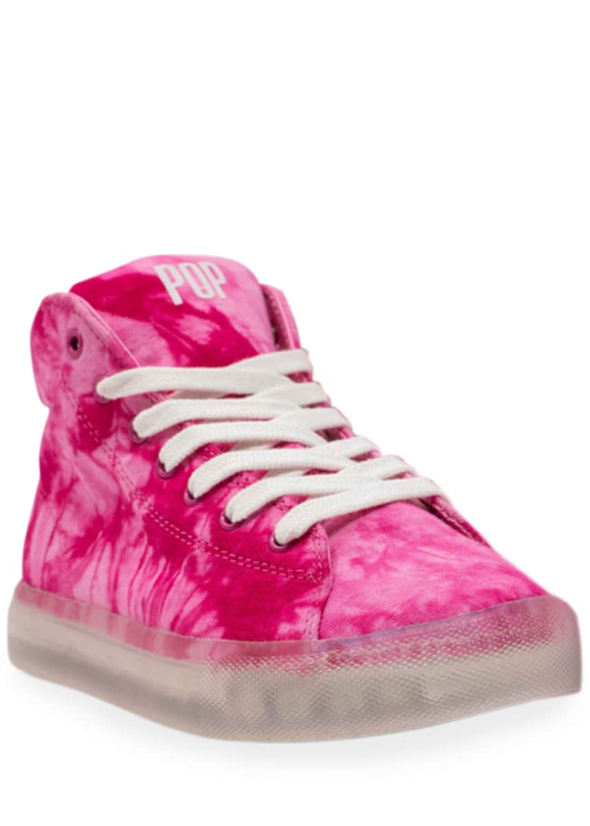 Pop Shoes Fairmount Tie-Dye Light-Up Sneakers, Toddler/Kids