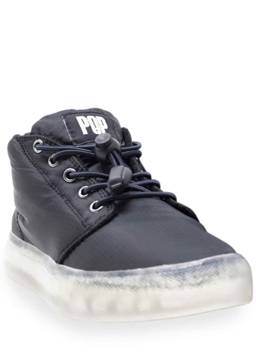 Pop Shoes Stanley Puffer Light-Up Shoes, Kids