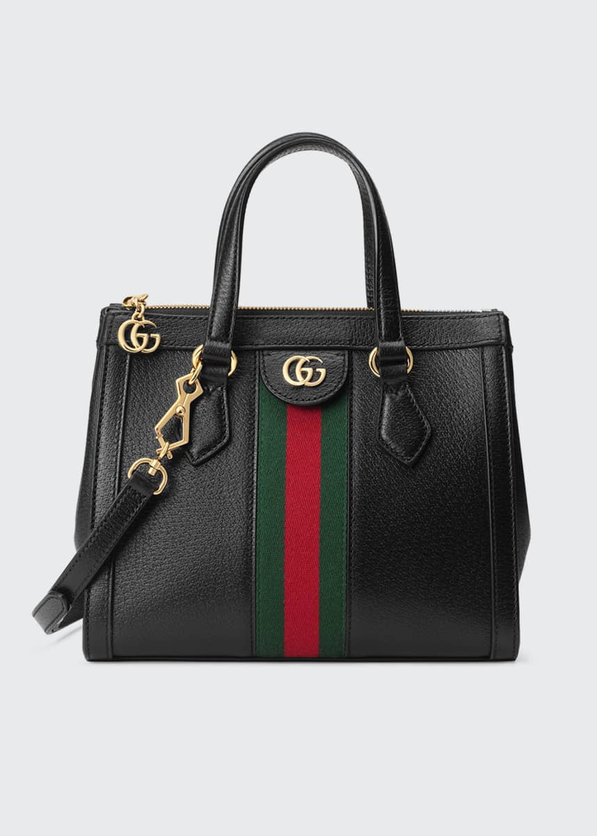Gucci Ophidia Small Leather Tote Bag