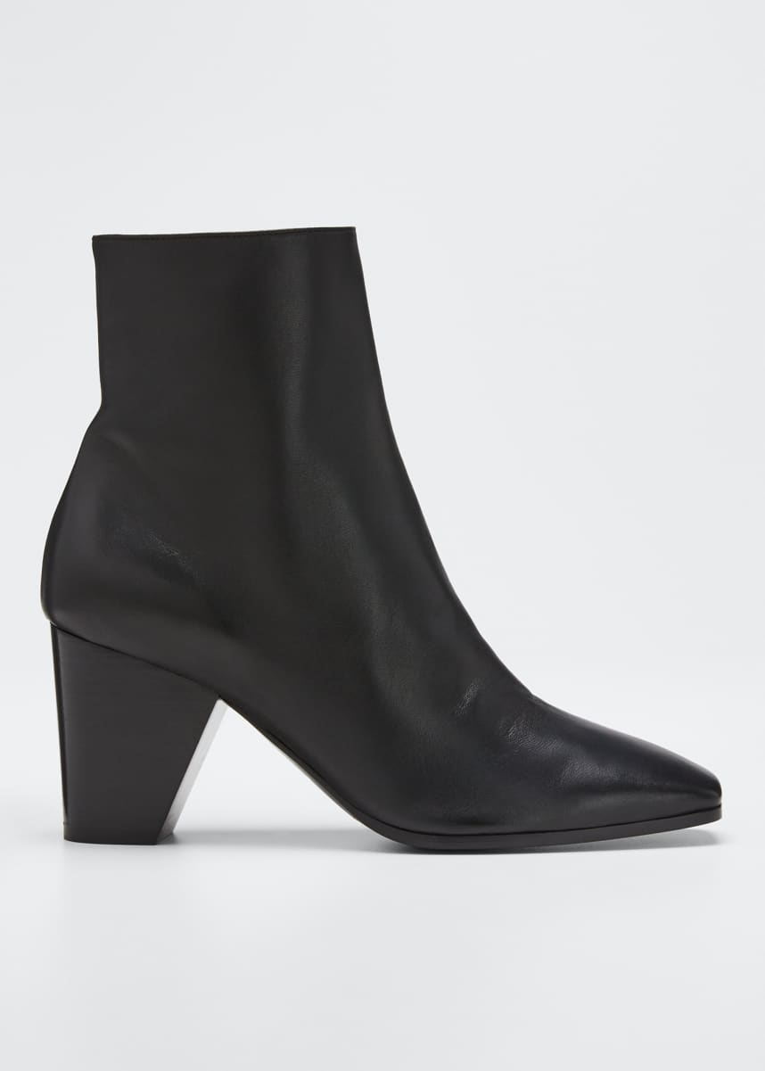 Pierre Hardy Dalva Leather Square Booties