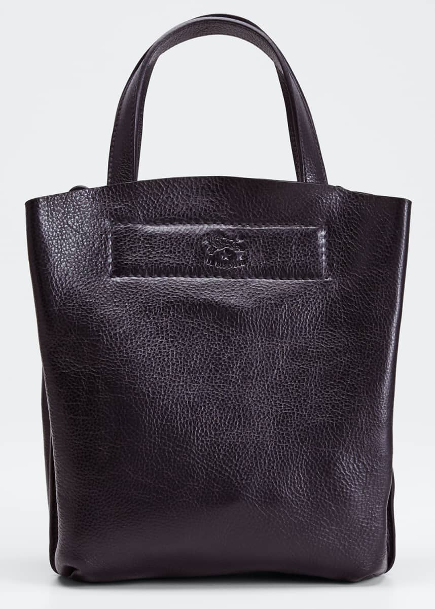 Il Bisonte Giglio Soft Leather Mini Tote Bag