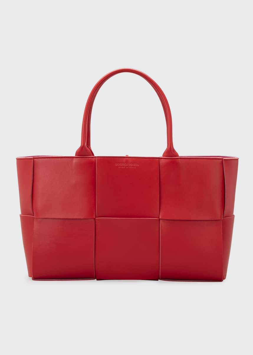 Bottega Veneta Arco Woven East-West Tote Bag