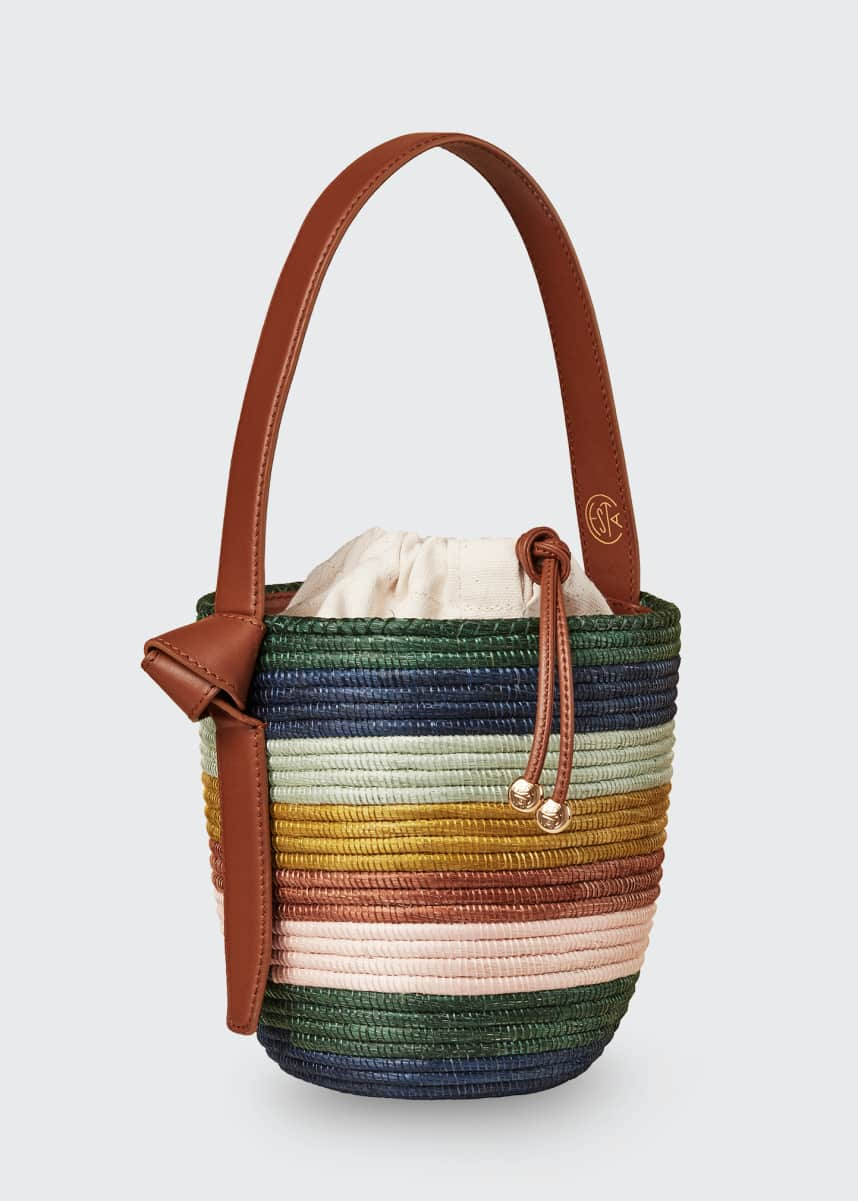 Cesta Collective Striped Lunch Pail Bag