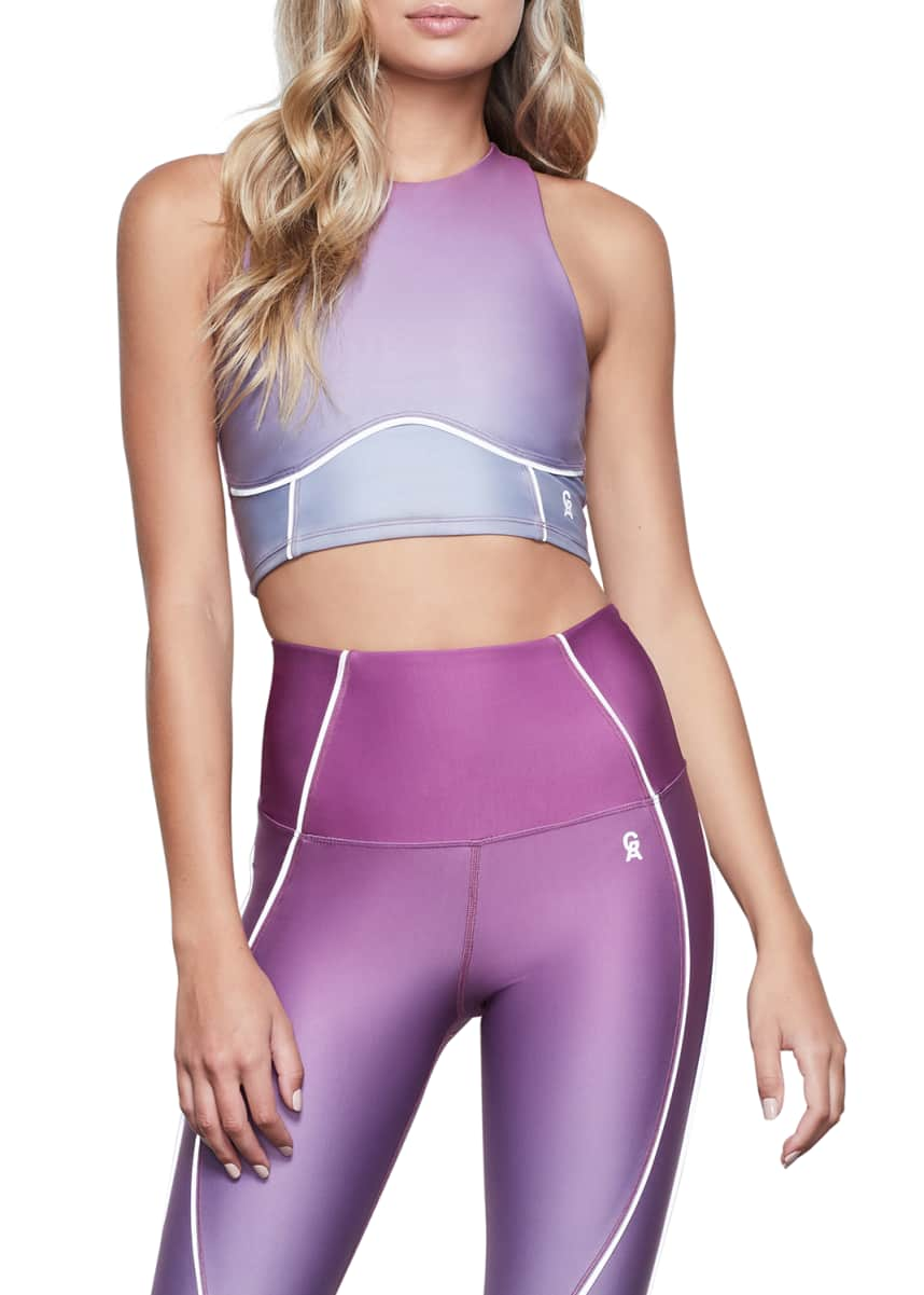Good American Ombre Contour Sports Bra - Inclusive Sizing