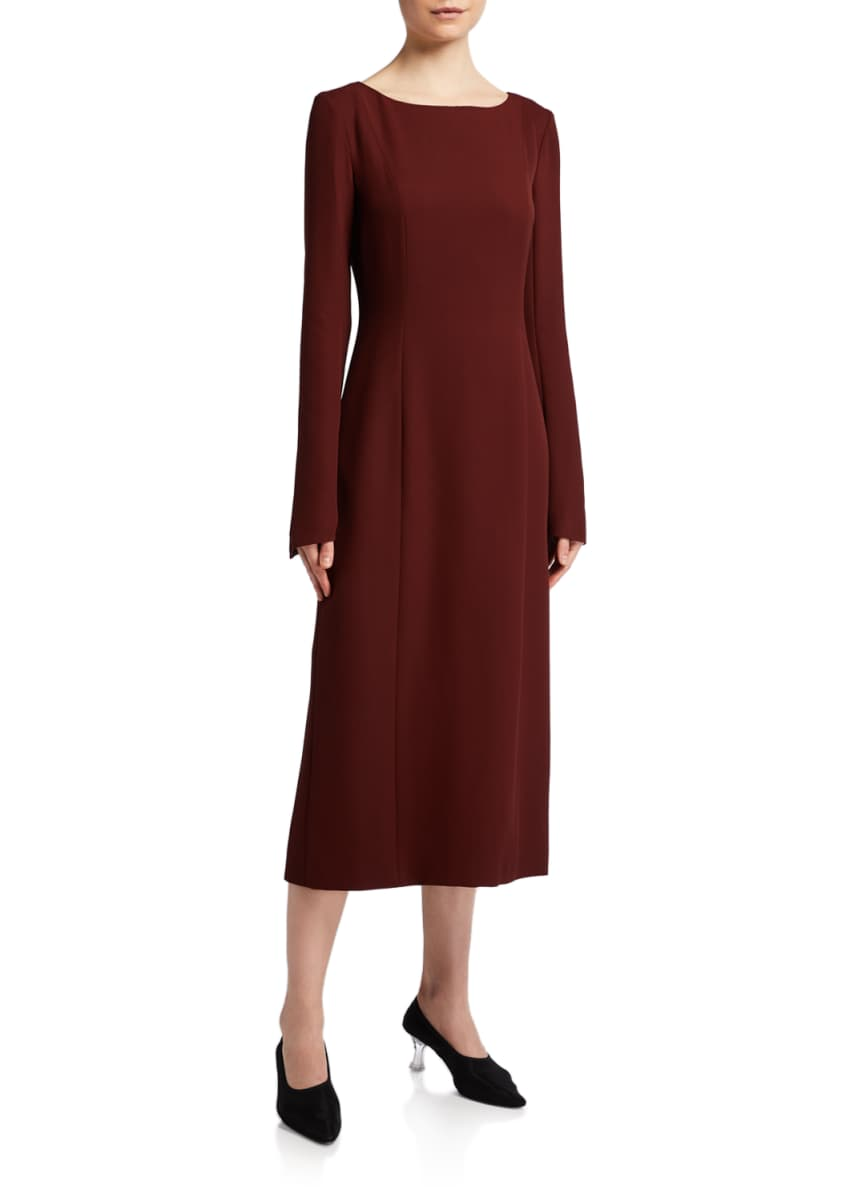 THE ROW Silk Cady Dress